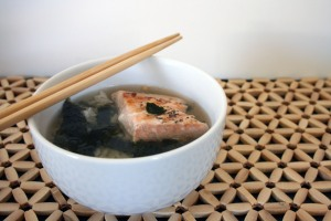 Ochazuke with broth