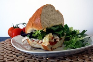 Chicken and Brie Sandwich