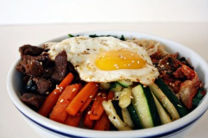 Bibimbap side 2