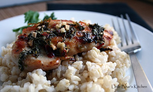 Fragrant Grilled Chicken, close-up2