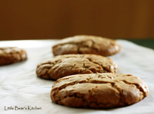 Super sized toffee cookies