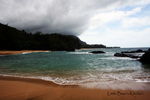 Lumaha'i Beach in Kauai