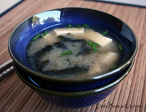 Miso soup, side